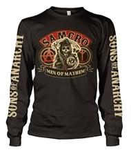 7c809e06 SAMCRO - Men Of Mayhem Long Sleeve T-Shirt