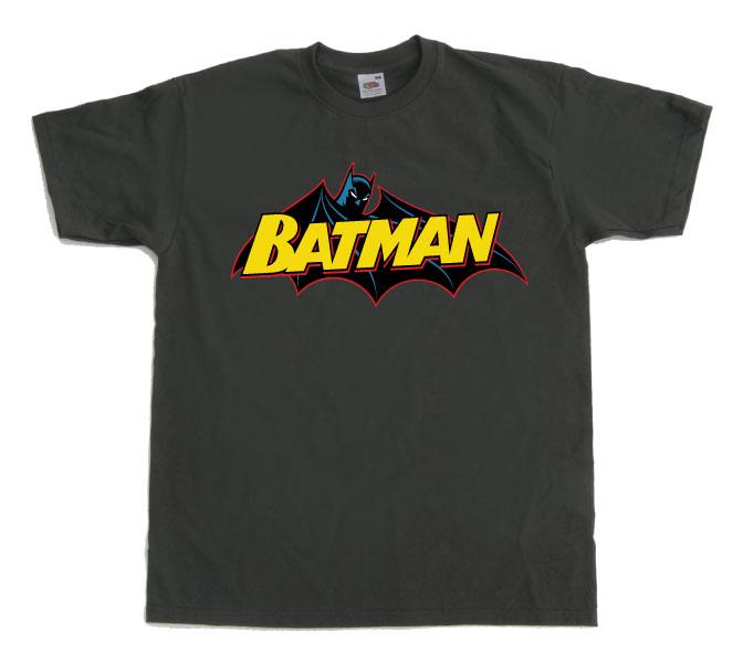 Batman Retro Logo T-Shirt