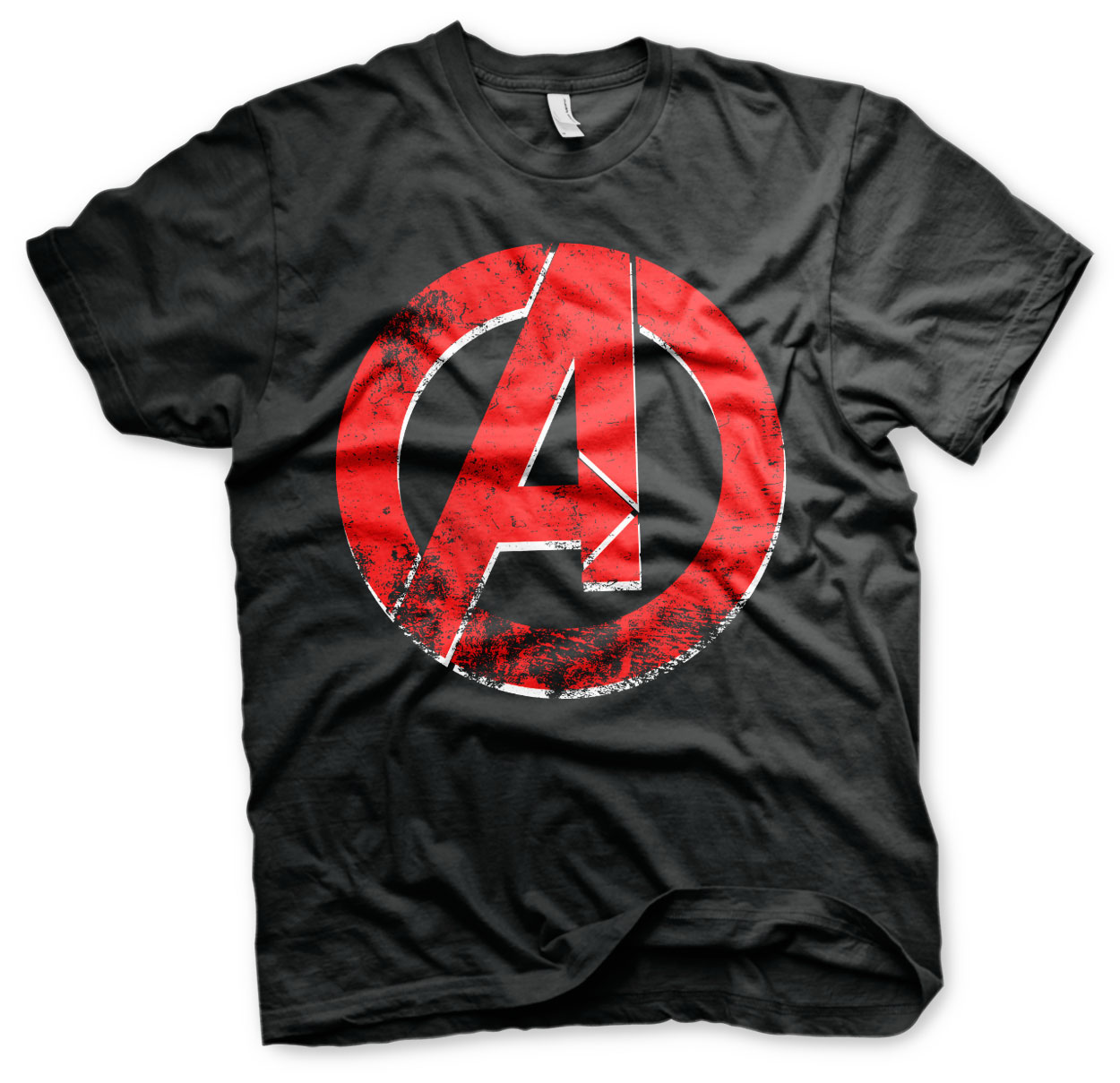 The Avengers Distressed A Logo T-Shirt