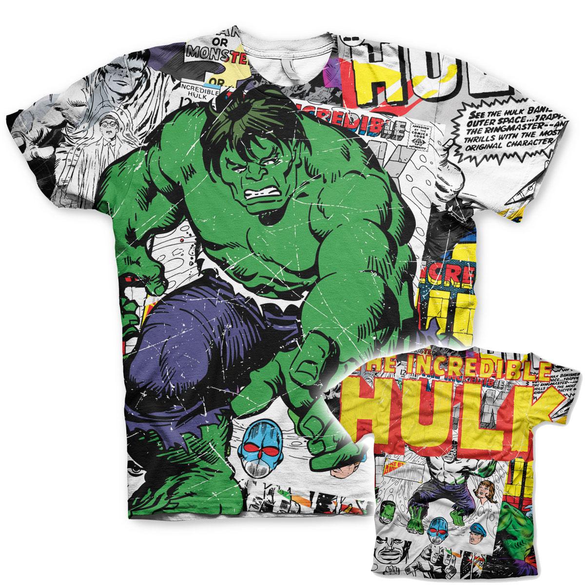 The Hulk Comic Allover T-Shirt
