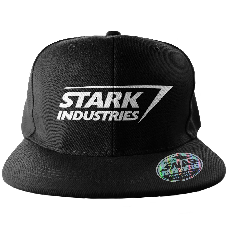 Stark Industries Logo Snapback Cap