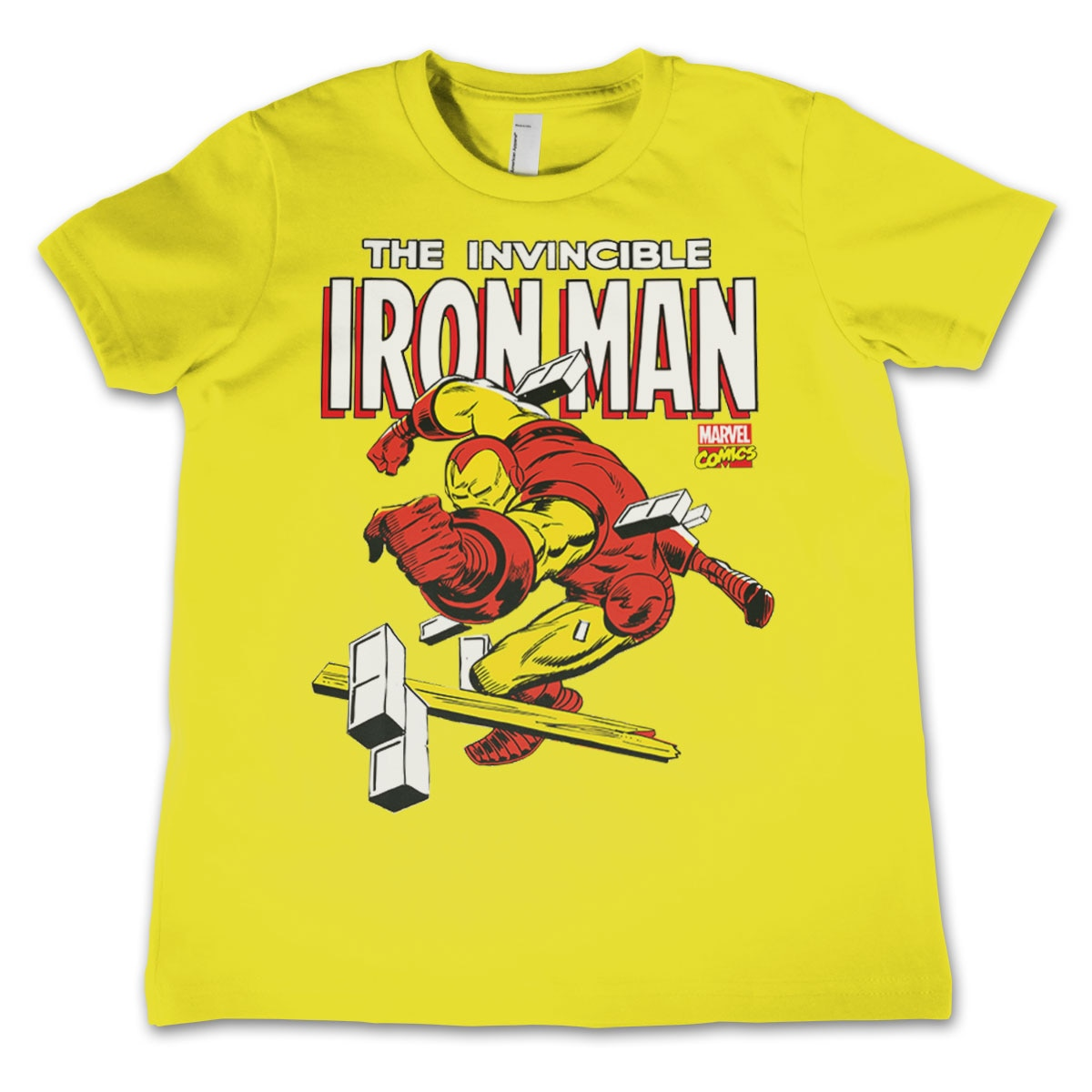 The Invincible Iron Man Kids T-Shirt