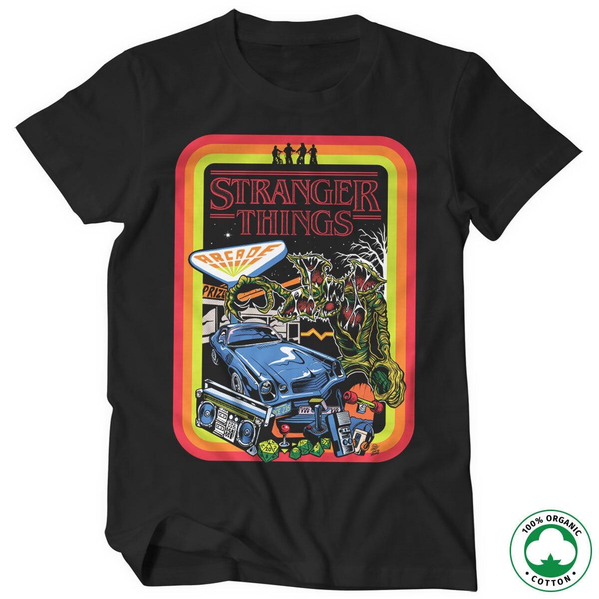 Stranger Things Retro Poster Organic T-Shirt