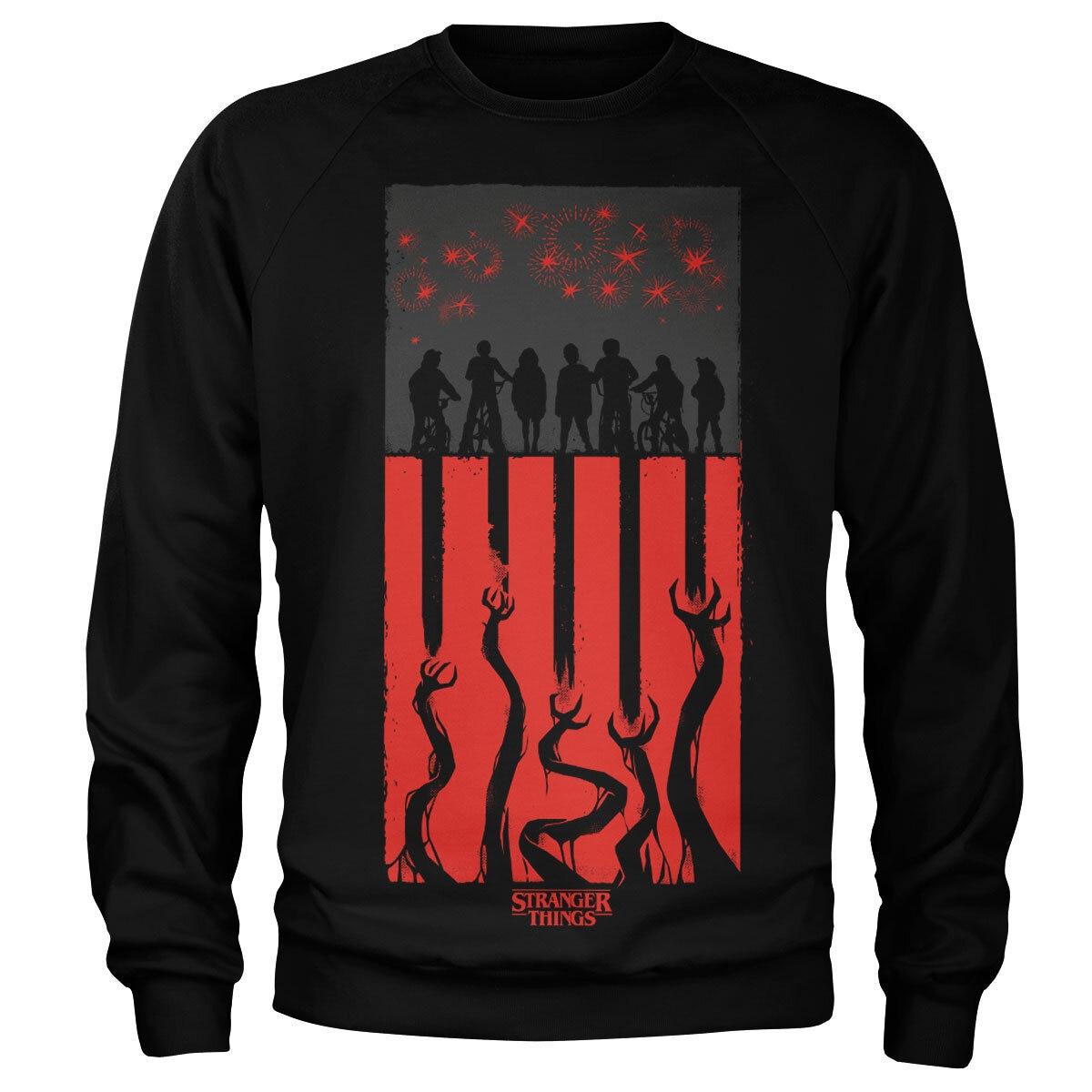 Stranger Things Flag Sweatshirt