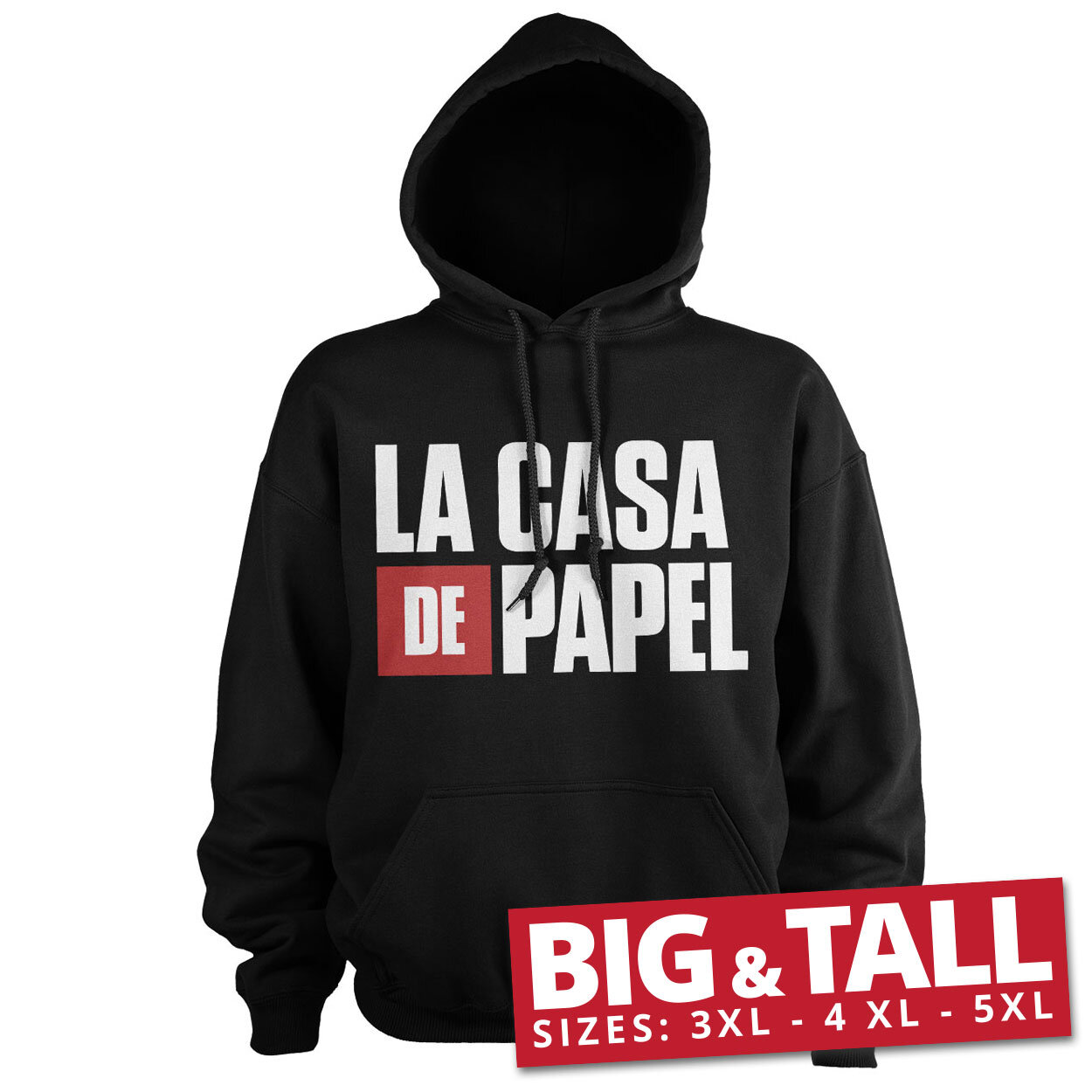 La Casa De Papel Logo Big & Tall Hoodie