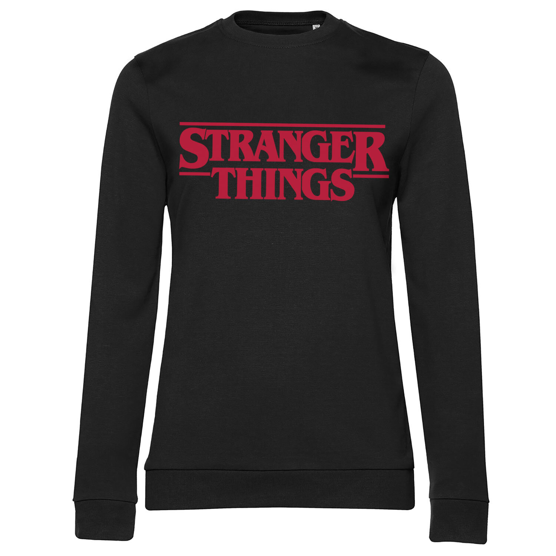 Stranger Things Logo Girly Sweatshirt