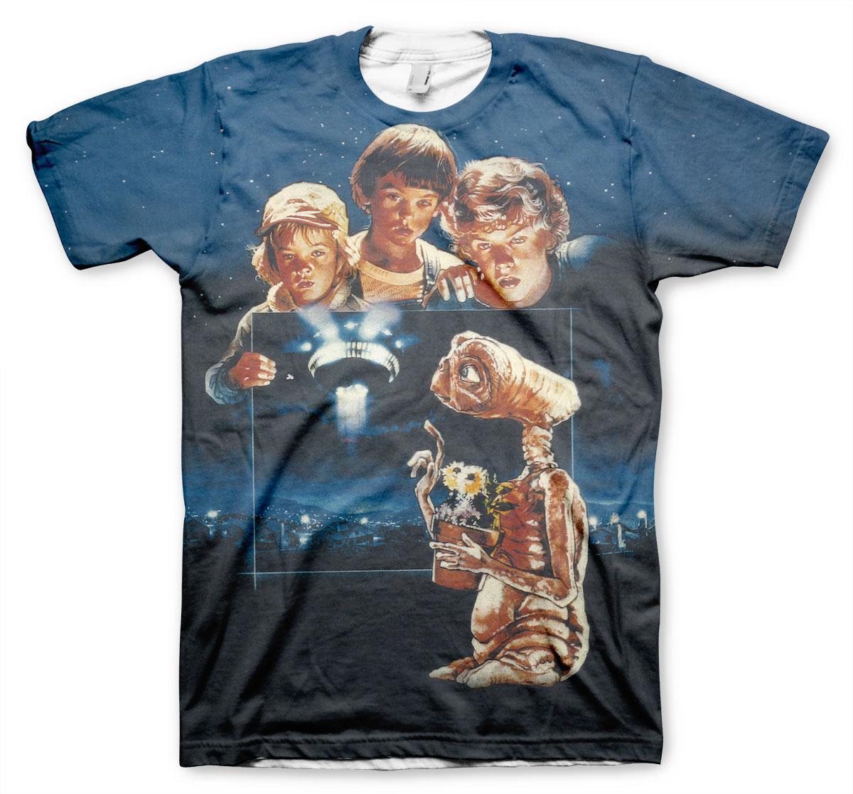E.T. Extra Terrestrial Allover T-Shirt
