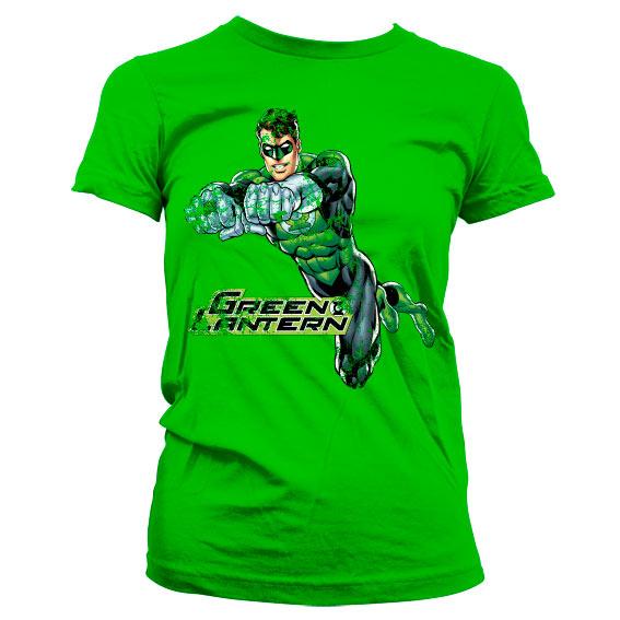 Green Lantern Distressed Girly Tee