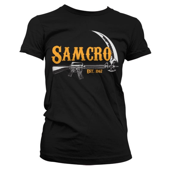 Sons Of Anarchy SAMCRO Est. 1967 Girly T Shirt