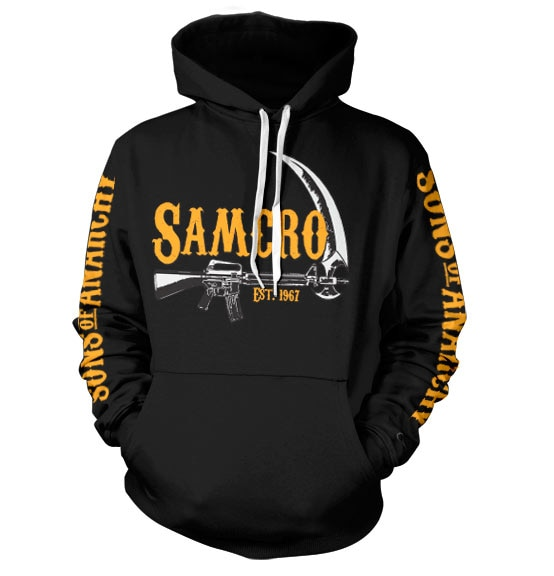 Sons Of Anarchy SAMCRO Est. 1967 Hoodie