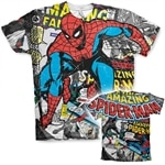 Spider-Man Comic Allover T-Shirt