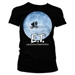 E.T. Bike In The Moon Girly Tee