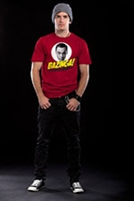 Bazinga Sheldons Head T-Shirt